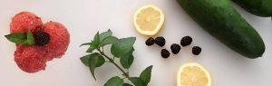Black Raspberry Cucumber Flaked Ice Recipe