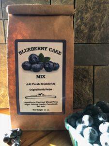 Blueberry Cake Mix